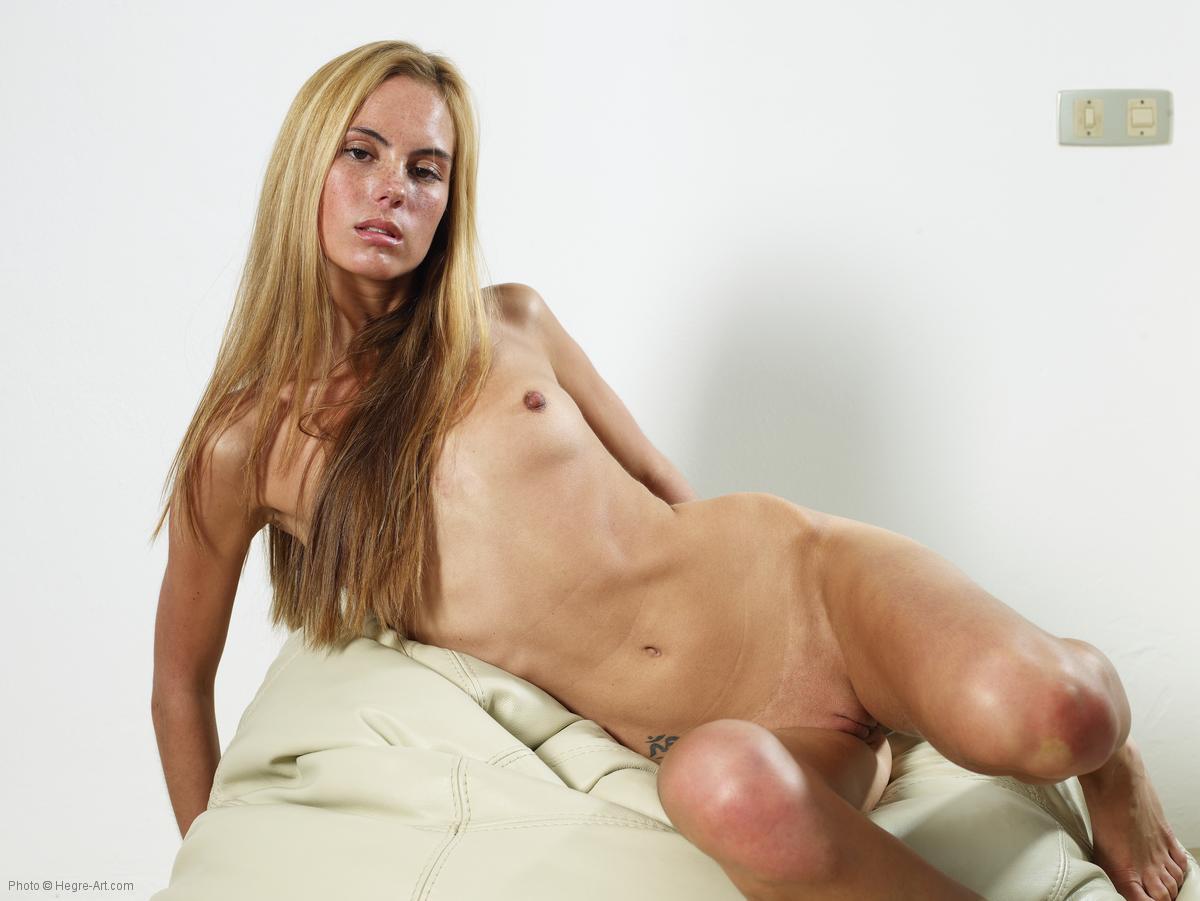 skinny nude sensual