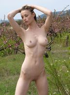 Skinny Nude Russian With Natural Breasts - hairless muffin slim college hottie