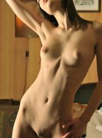Hot Skinny Girl Nude With Flat Tummy - nude coed with dainty breast